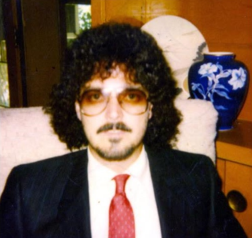 A disguise I wore in court when I testified against gang members I had purchased drugs from while undercover.